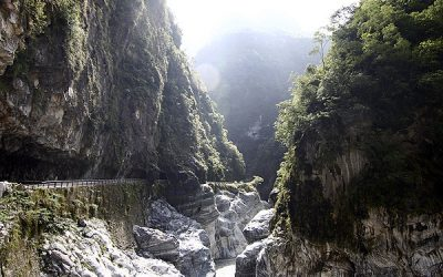 花蓮:秀林 | 太魯閣峽谷。鬼斧神工般世界級奇景