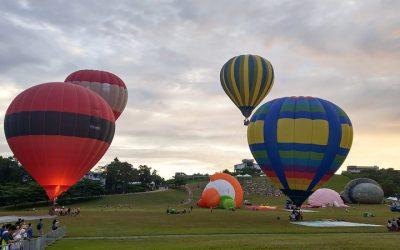 台東:鹿野 | 臺灣國際熱氣球嘉年華。鹿野高台