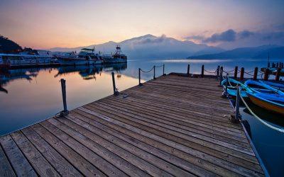 南投:日月潭 | 水社碼頭。漫遊湖光山色